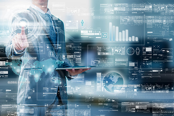 How does big data innovation affect managerial decision within a large company ?